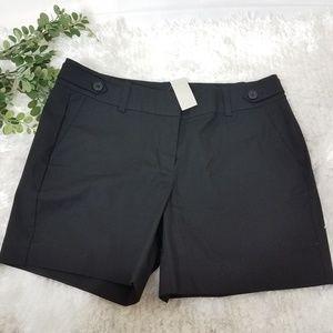 New ANN TAYLOR black shorts